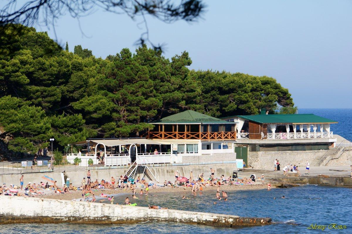 Форос фото пляжей и набережной