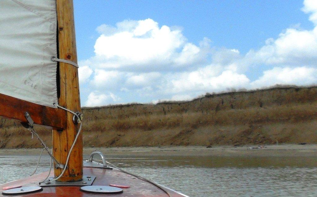 На яхте, море Азовское, у Шиловки, август... 037. 011