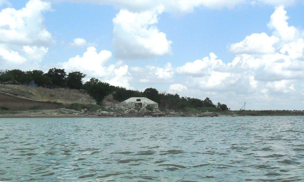 На яхте, море Азовское, у Шиловки, август... 037. 006