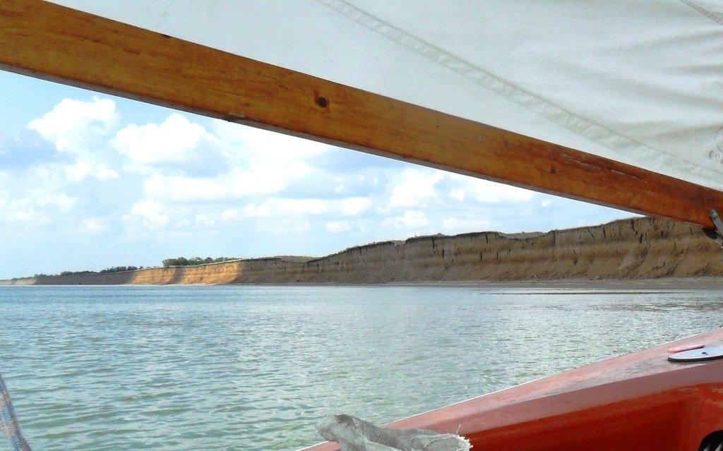 На яхте, море Азовское, у Шиловки, август... 037. 012