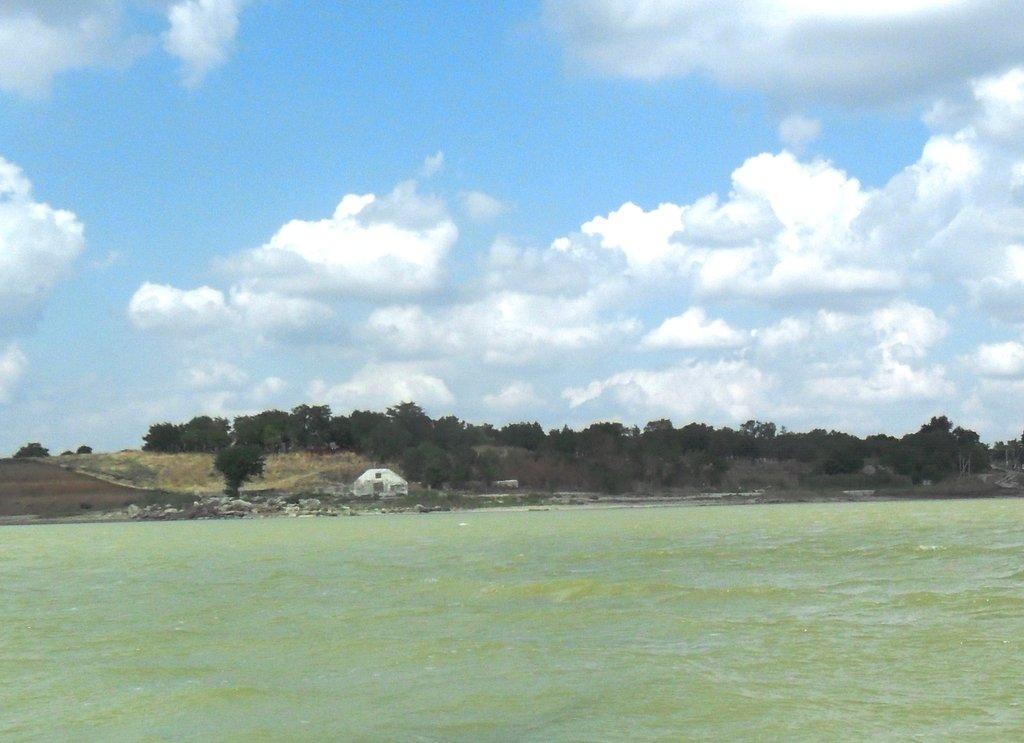 На яхте, море Азовское, у Шиловки, август... 037. 003