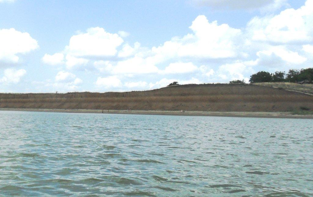 На яхте, море Азовское, у Шиловки, август... 037. 007