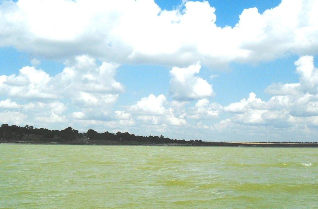 На яхте, море Азовское, у Шиловки, август... 037. 004