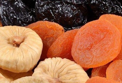 3 фрукта на ночь.