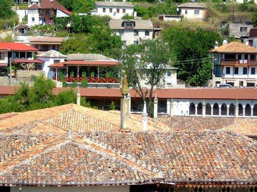 Крыши домов. Бахчисарай.