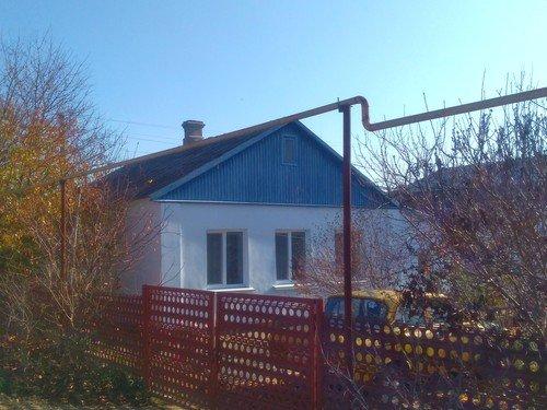 Голубой домик.