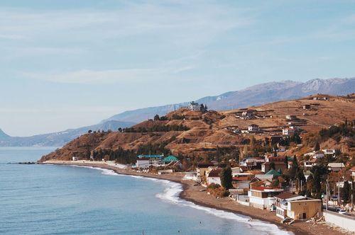Зимняя панорама. Крым.