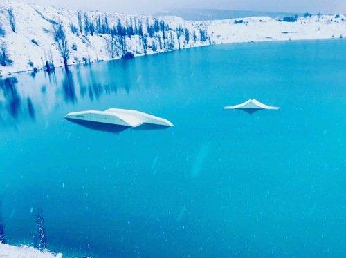 Марсианское озеро.Крым.