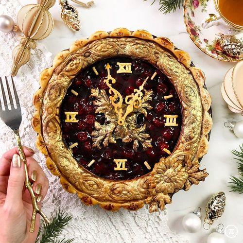 ИДЕИ ОФОРМЛЕНИЯ. Новогодние пироги.