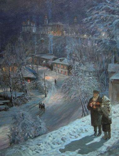 Рождество.Виктор Лукьянов.