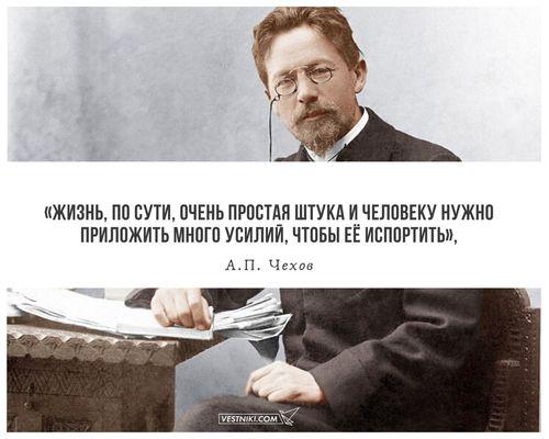 160 лет со дня рождения Чехова.
