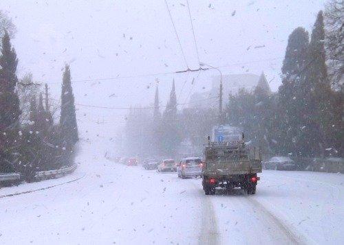 В Крыму обещают резкое похолодание.