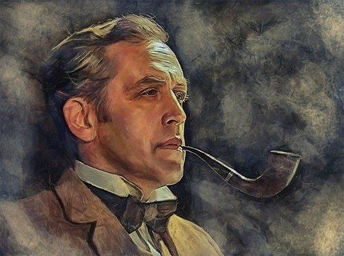 6 января-день рождения Шерлока Холмса.
