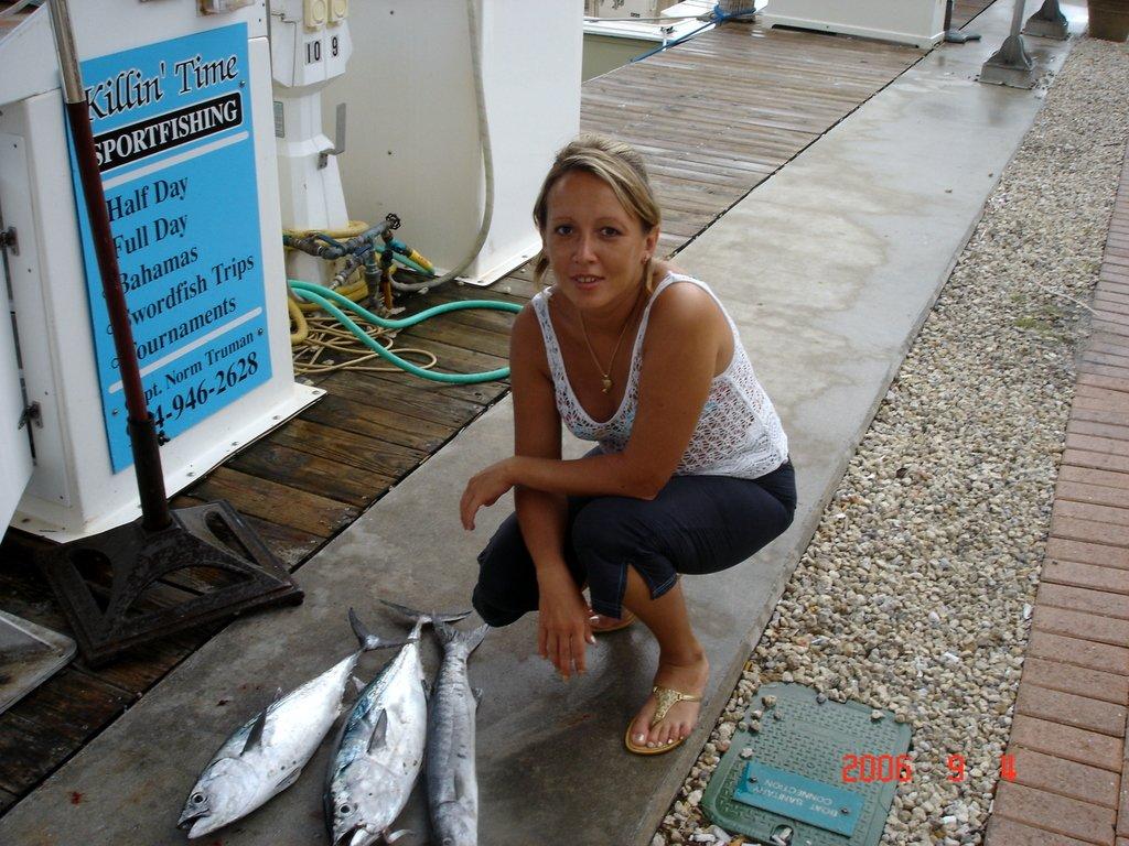 Добыча рыбака во Флориде