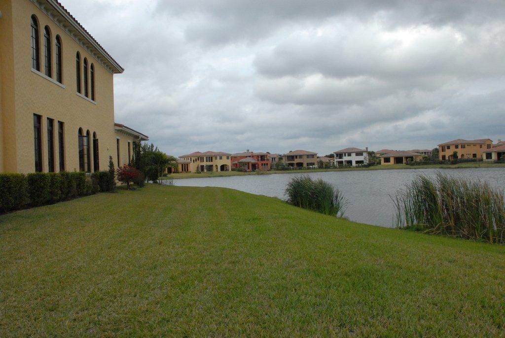 Берег пруда во Флориде.
