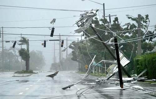 Утро Флориды после урагана