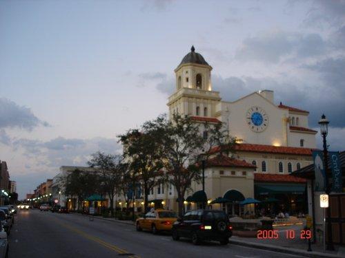 Вечерняя Флорида после урагана...