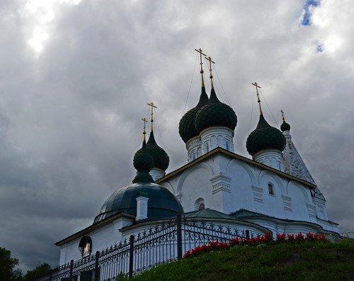 Церковь Спаса на Городу. XVII век. (Ярославль)