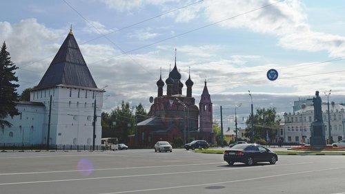 Ярославль. Богоявленская площадь.