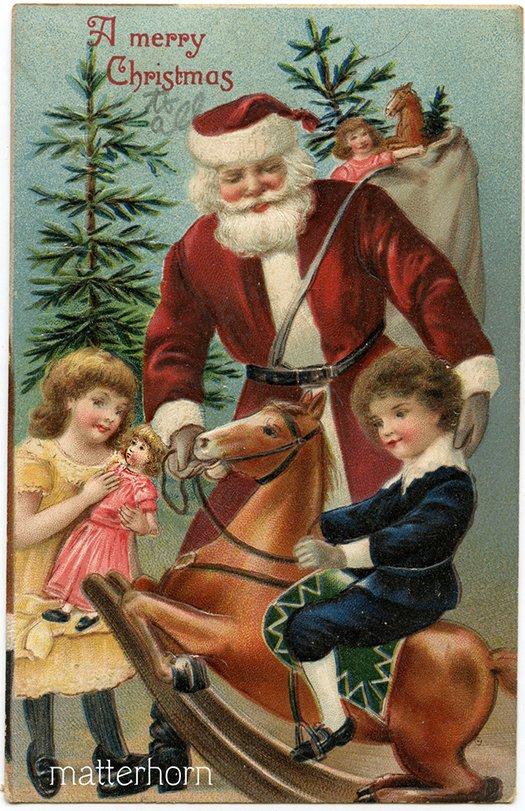 Подарки от Санта-Клауса