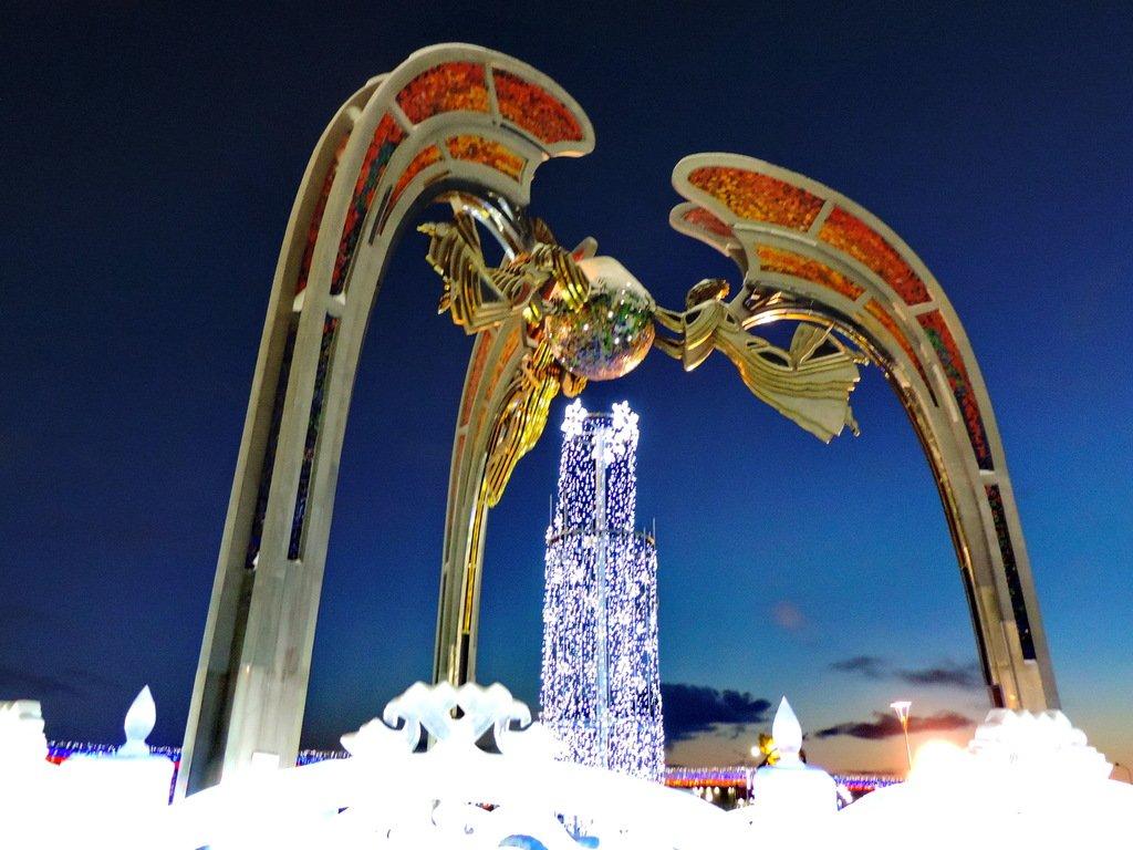Салехард ледяные скульптуры фото