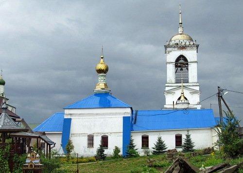 Церковь Иконы Божией Матери Владимирская в Богоявленском Мстёрском монастыре