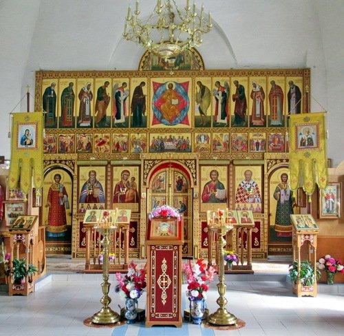 Иконостас церкви Николая Чудотворца в Мстёре