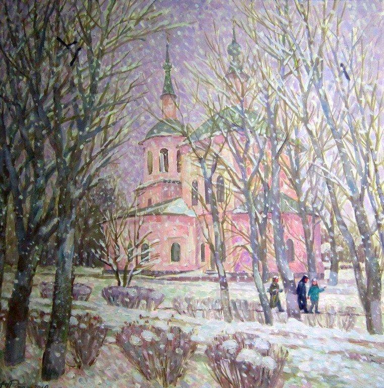 А. М. Курманаевский. Церковь Св. Петра и Павла. Наставник. 2010 год.