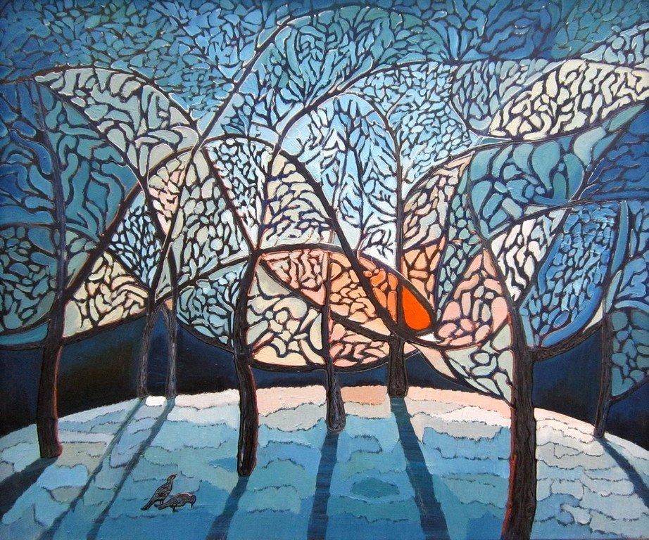 В. Пугач. Зимняя птица. 2009 год.