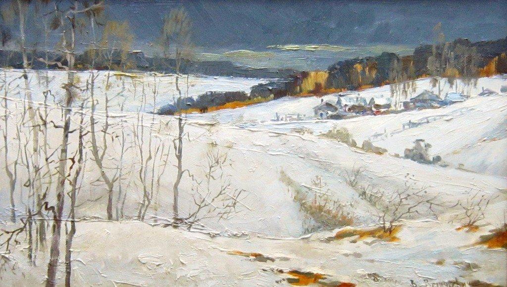 В. В. Величкович. Зимой. 2009 год.