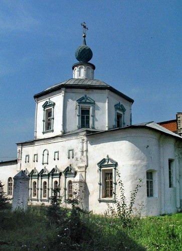 Собор Троицы Живоначальной в Троицком Рязанском монастыре