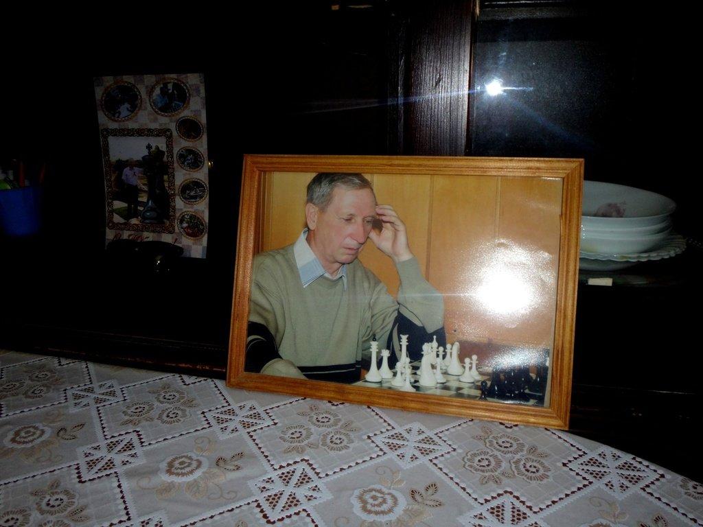 ...В семье шахматиста... , Январь 2020