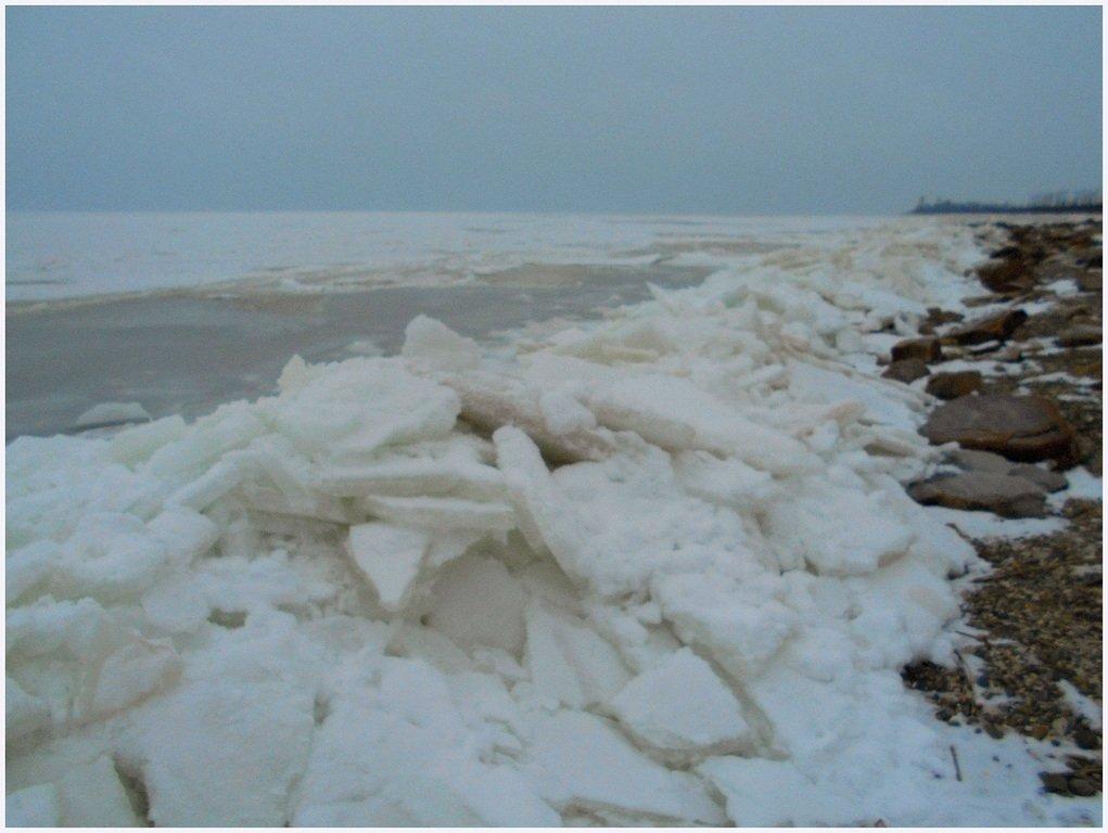 Зима, в походе пешем, февраль, Азовское побережье... 002. 012