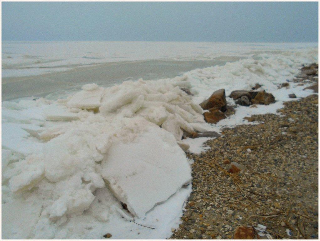 Зима, в походе пешем, февраль, Азовское побережье... 002. 004