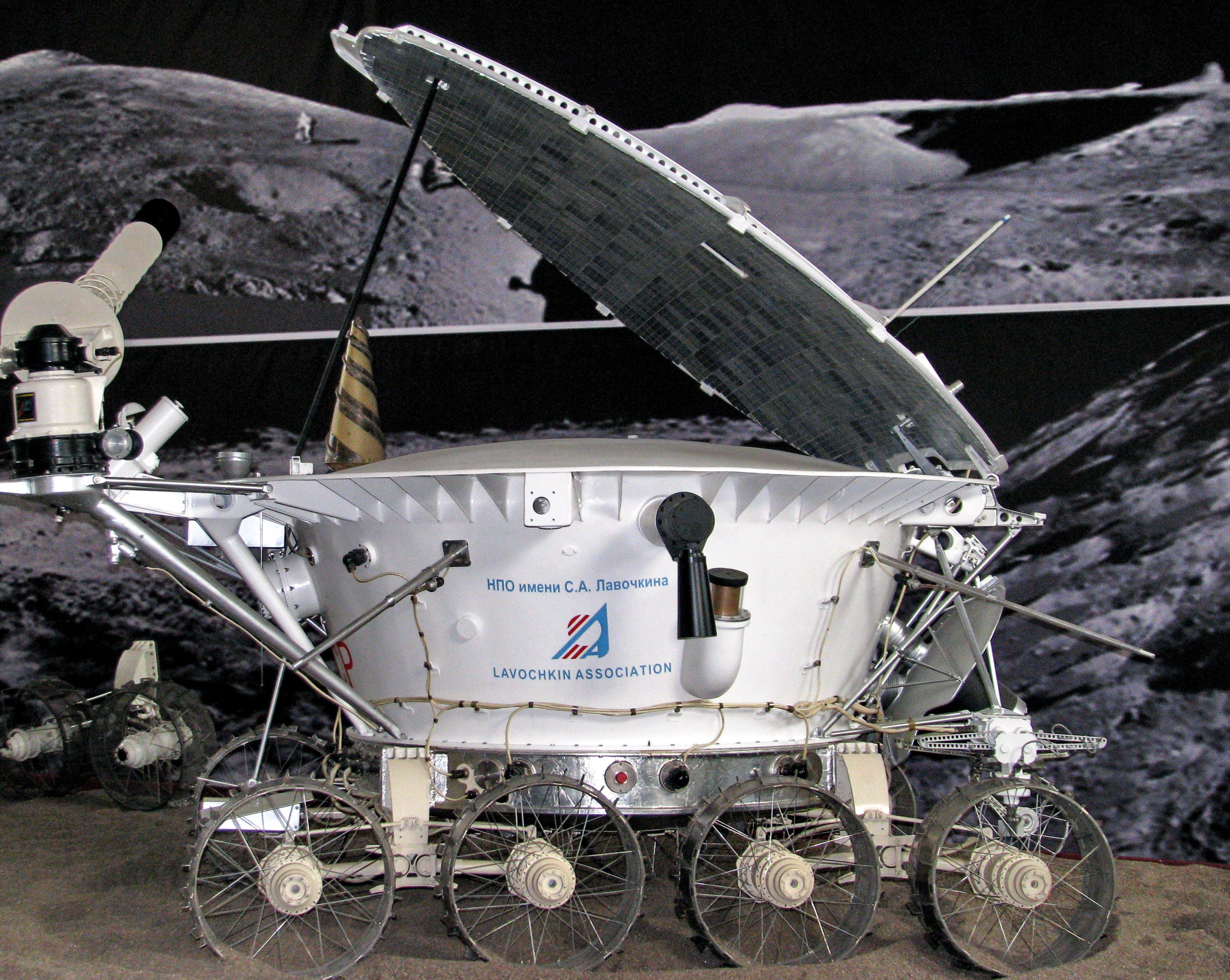 фото лунохода на луне принтер