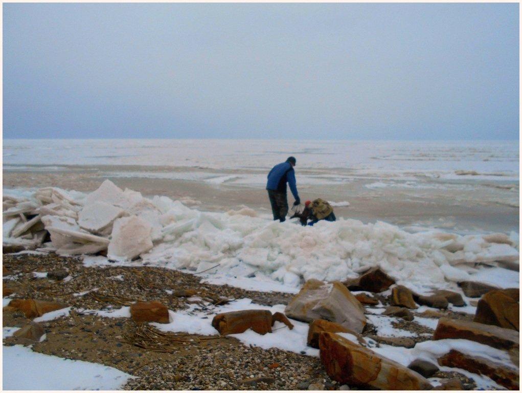Из леса к морю, февраль, в походе, лёд, снег... 004. 009