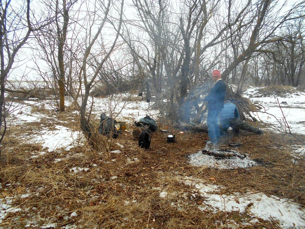 Из леса к морю, февраль, в походе, лёд, снег... 004. 003