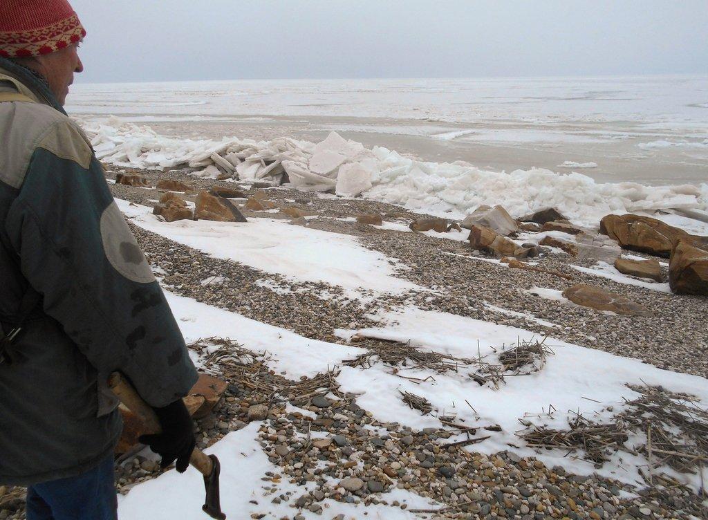 Из леса к морю, февраль, в походе, лёд, снег... 004. 007