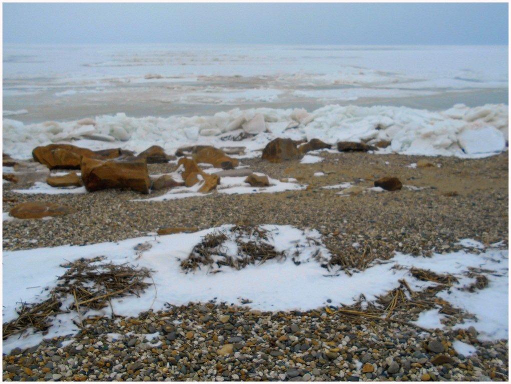 Из леса к морю, февраль, в походе, лёд, снег... 004. 008