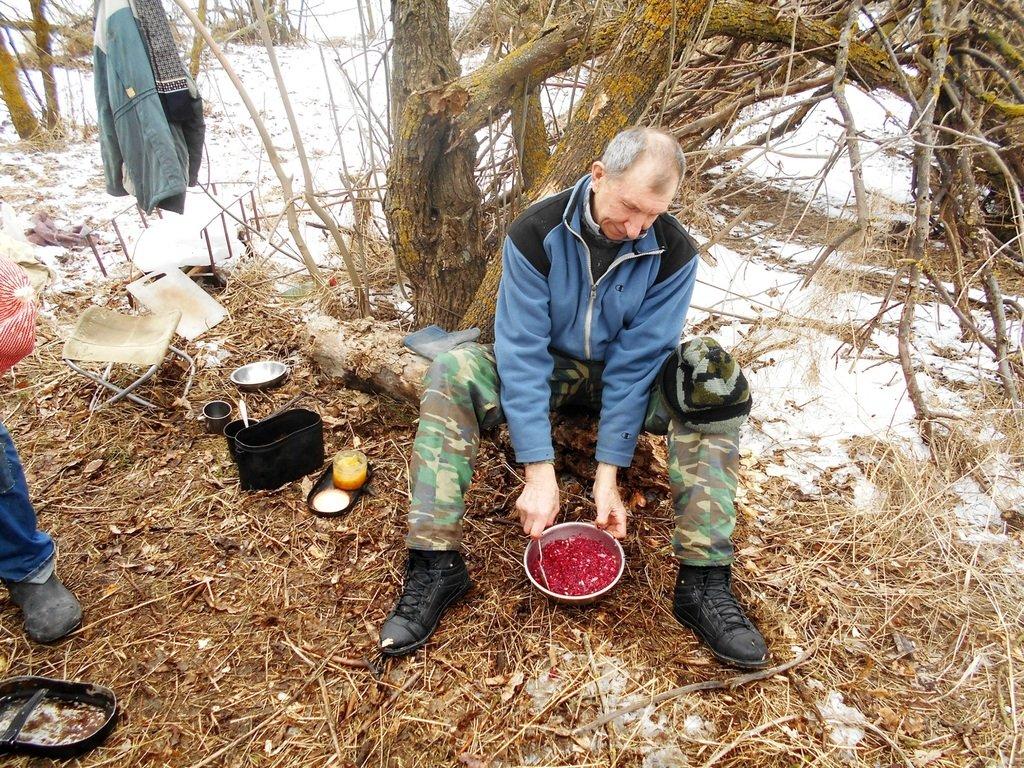 Из леса к морю, февраль, в походе, лёд, снег... 004. 002