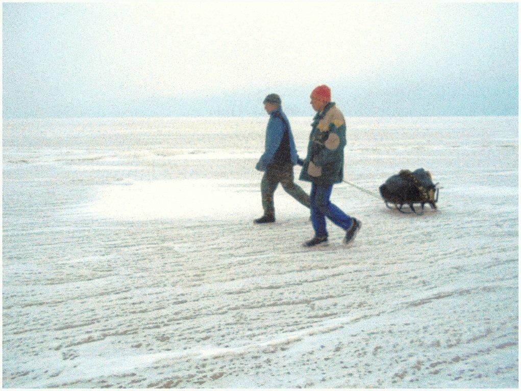 Из леса к морю, февраль, в походе, лёд, снег... 004. 014