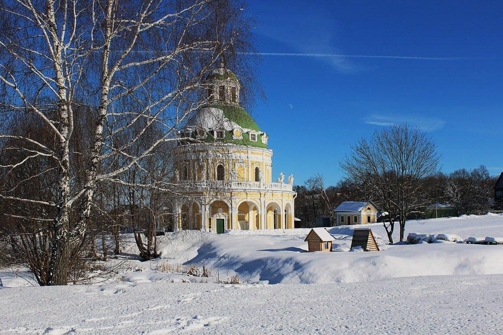 зима в Подмоклово