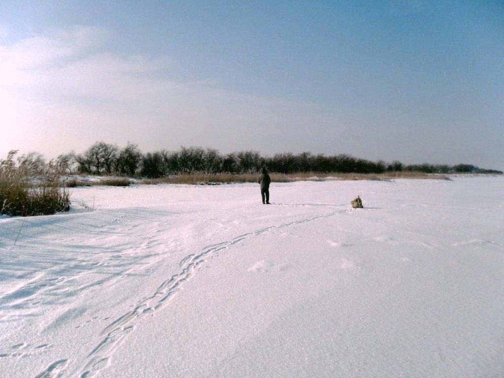 В зимней сказке, на косе Ачуевской, февраль, туризм...004. 002