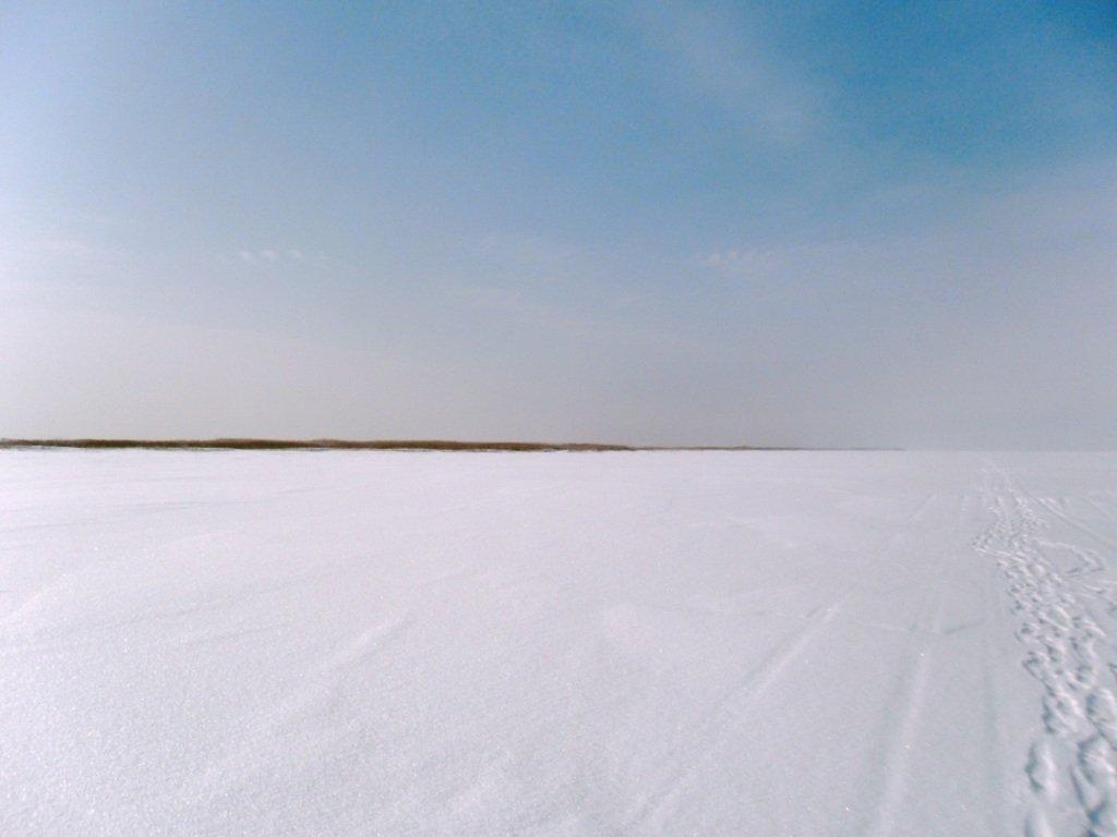 В походе снежном, Азовское побережье, февраль... 005. 011
