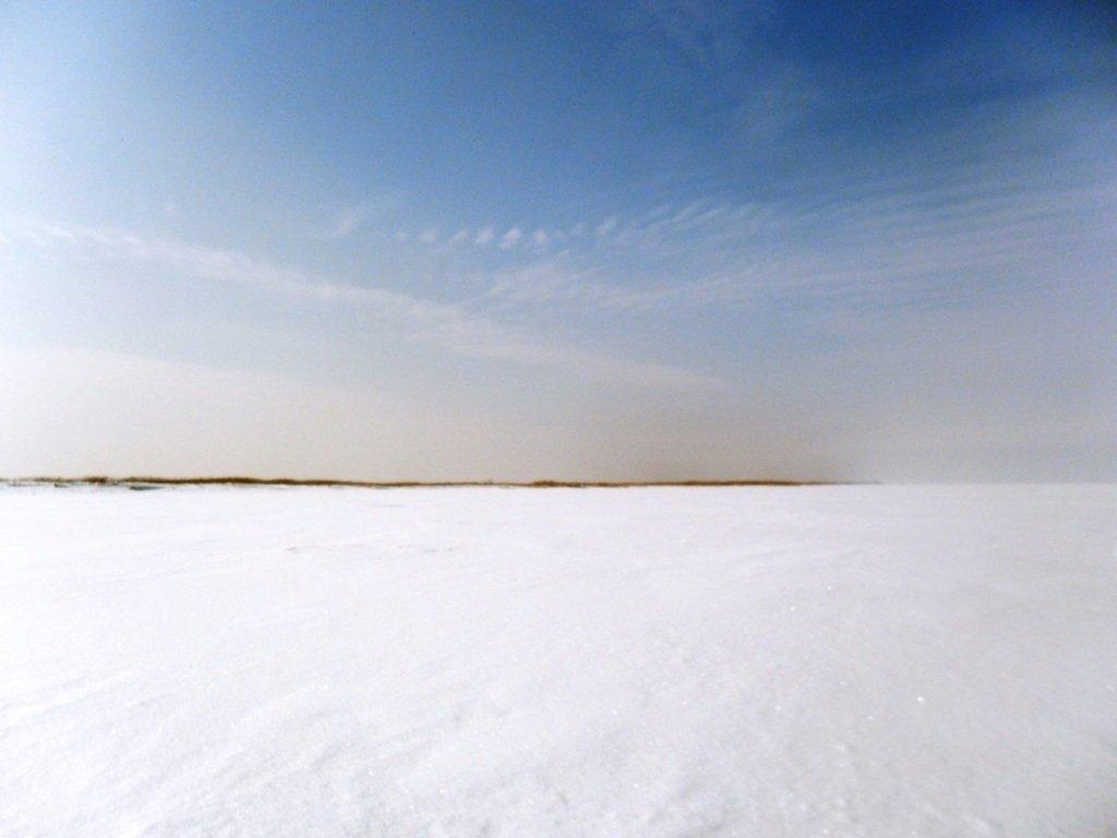 В походе снежном, Азовское побережье, февраль... 005. 012
