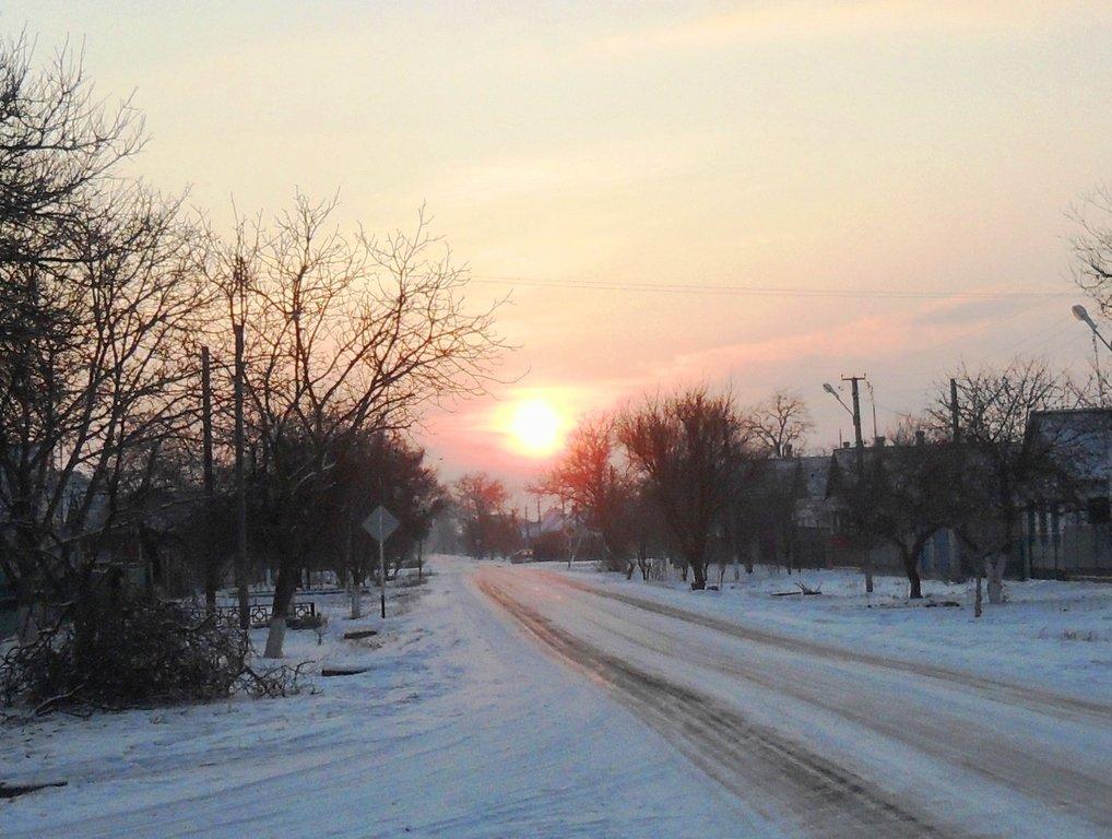 Перед выходом на лёд, туристы в походе... Город в снегу, февраль... 001. 001. 004
