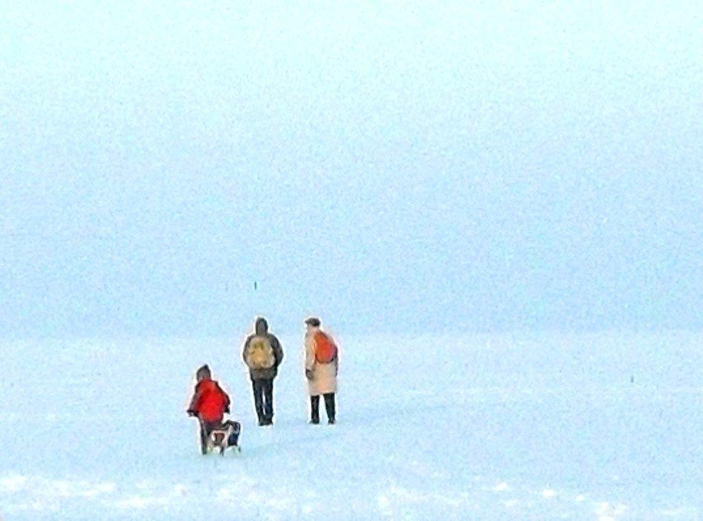 В походе, Зима, у моря, снег...001. 002. 012