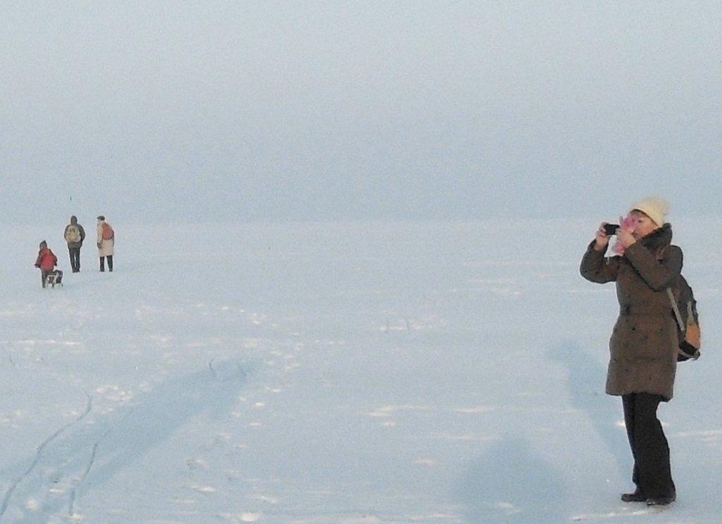 На зимних берегах, у моря Азовского, в походе... 001. 003. 010