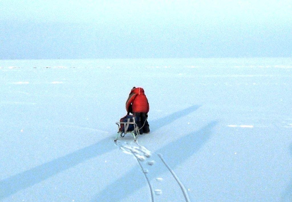 На зимних берегах, у моря Азовского, в походе... 001. 003. 012