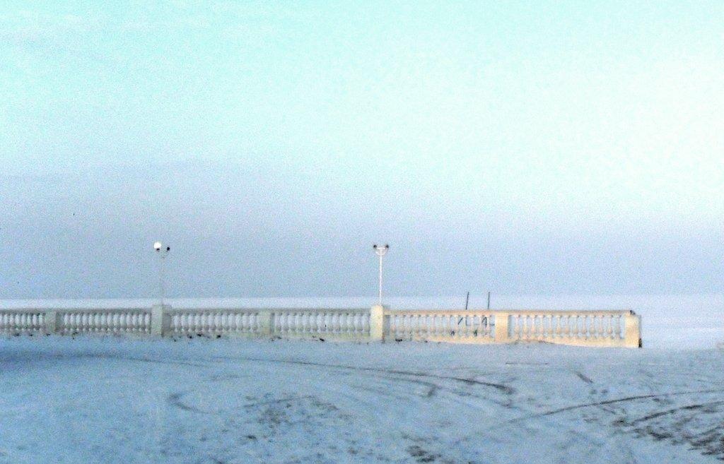 На зимних берегах, у моря Азовского, в походе... 001. 003. 005